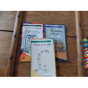 Banda Oriental 3 Libros-jack London, Quiroga, Gaiero