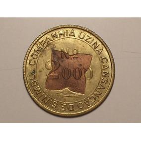Ficha Usina Tiúma Nº 2000 / Pernambuco / 1887 - Sob / C-01