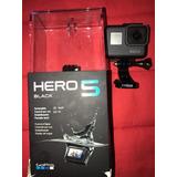 Cámara Gopro Hero5black (incluye Bastón De Selfie Y Control)