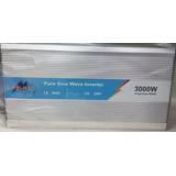 Inversor Optimus 3000w Onda Pura + 12v / 24v / 110v / 220v