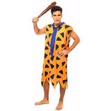 Fantasia Cosplay Fred Flintstones Adulto Masculino