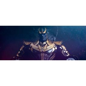 Pdo Papercraft Cosplay Thanos Vingadores Filme Armadura