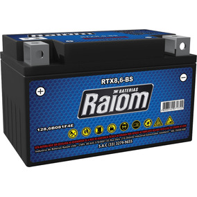 Bateria De Moto Raiom Ytz10s 8,6ah 12v Selada (rtx8,6-bs)