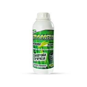 Herbicida Seletivo Gramizap Imazapir Mata Tiririca Mato 1l