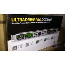Processador Digital Dcx 2496 Behringer Le Crossover 12x