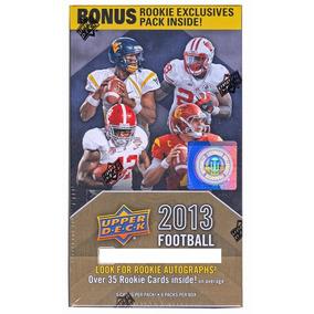 2013 Upper Deck Football 8-pack Box (1 Bonus Rookie Exclusiv