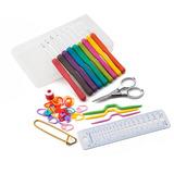 Set Crochet Antireumaticos Silicona + Accesorios