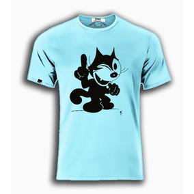 Playeras O Camiseta El Gato Felix 100% Jinx