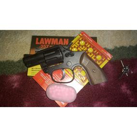 Arma Brinquedo Rambo Lawman + 1 Cartela Espoletas + 100 Bbs