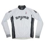 Color  Negro. Nba San Antonio Spurs Playera De Manga Larga Jersey De Cicli 6a04c10d53bbf