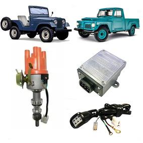 Kit Ignição Eletrônica Jeep F75 Maverick Rural 4cc Ohc Novo