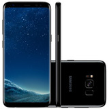 Smartphone Samsung Galaxy S8+ G955fd Preto - Dual Chip, 4g
