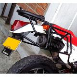 Parrilla Y Porta Alforjas Honda Xl Xr 200