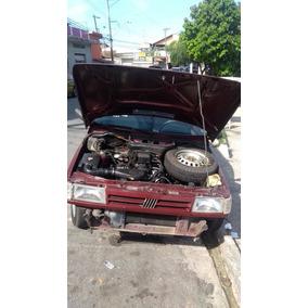Motor Parcial Uno Mille 1.0 1994 Com Baixa E Nota