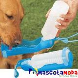 Bebedero Portátil Para Perros Viajes, Paseos, Caminatas