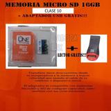 Micro Sd 16 Gb One Tg 2 En 1 Con Adapatador Usb En Pereira