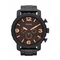 Relógio Masculino Fossil Nate Jr1356 ( Rev.autorizado)
