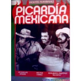 Picardia Mexicana 1 Y 2 Dvd Vicente Fernandez,hector Suarez