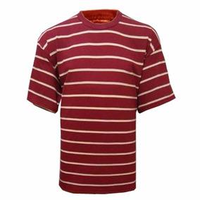 Camiseta 100% Algodão Listrada L 42
