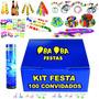 Kit Festa Balada Casamento Formatura 100 Convidados + Brinde