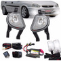 Kit Farol Milha Corsa 00/02 Classic 00/09 + Kit Xenon 8000k
