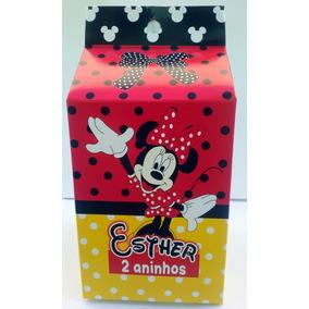 Caixinha Milk Personalizada Da Minnie
