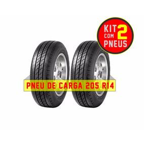 Kit De 2 Pneus 205 R14 Kia Bongo Carga Wanli