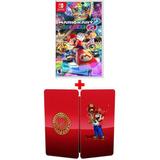 Mario Kart 8 Deluxe Nintendo Switch Con Steelbook Sellado