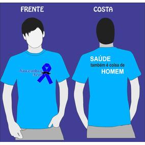 Camiseta Capanha Novembro Azul Unissex Promocao