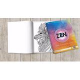 Cuaderno Libro Zen Para Colorear Mandalas Relajacion