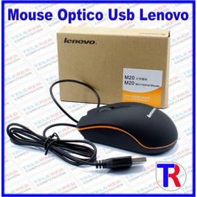 Mouse Optico Usb Lenovo Alambrico Nuevo Oferta !