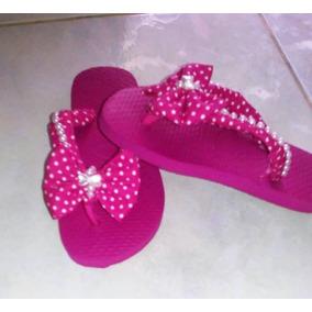 Sandálias (chinelo) Tipo Havaiana Decorada - Infantil