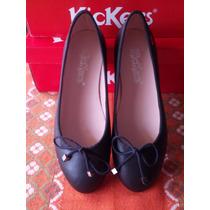 Zapatos Kickers Toreritas Color Negro 100% Originales Nuevo