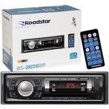 Rádio Mp3 Player Bluetooth Fm Sd Usb Controle 7 Cores Botões