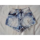 Short Feminino Jeans Atrativa Tamanho 34