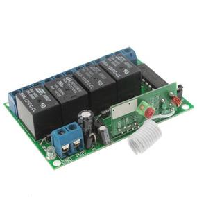 Pieza Modulo Cr 4ch Relay Wireless Rf Controlador 315mhz