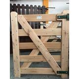 Puertas Portones Tipo Tranquera Para Exterior- Piletas