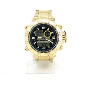 Relógio Masculino De Marca - Dourado Invicta - Barato!