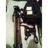 Camara Canon T5i + Mochila + Tripie+ Lente 18-55mm