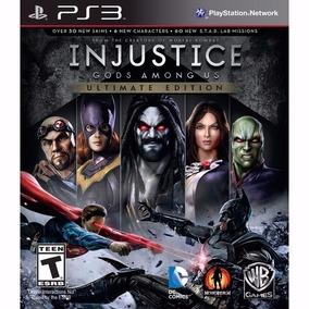Injustice Ultimate Edition + Batman Arkham Asylum - Ps3 Psn