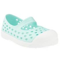 Zapato De Plastico Old Navy, Ligero Para Niña #205603 Menta