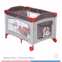 Berco Portátil Play Formula Baby Galzerano