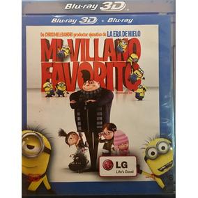 Bluray 3d Mi Villano Favorito Minions Usado Incompleto
