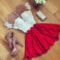 Mei Fashion / Vestido De Fiesta / Moda Coreana /verano