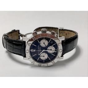 b060372037c Bulgari Bb 38 Lindo - Relógio Bvlgari Masculino no Mercado Livre Brasil