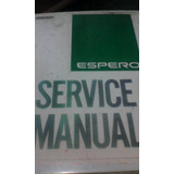 Manual De Taller Daewoo Espero