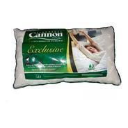 Almohada Exclusive Cannon 70x40 Fibra Siliconada Premium