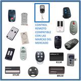 Control Remoto Puertas Automaticas Universal Varias Marcas