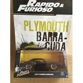 Coleccion Rápido Y Furioso Plymouth Barracuda 1:43 Jada