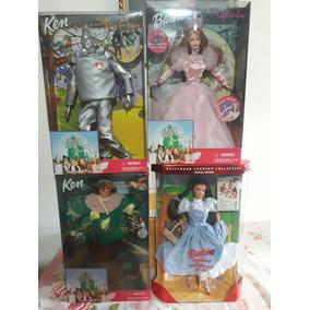 Barbie Dorothy Kem Espantalho Homem De Lata E Glinda.